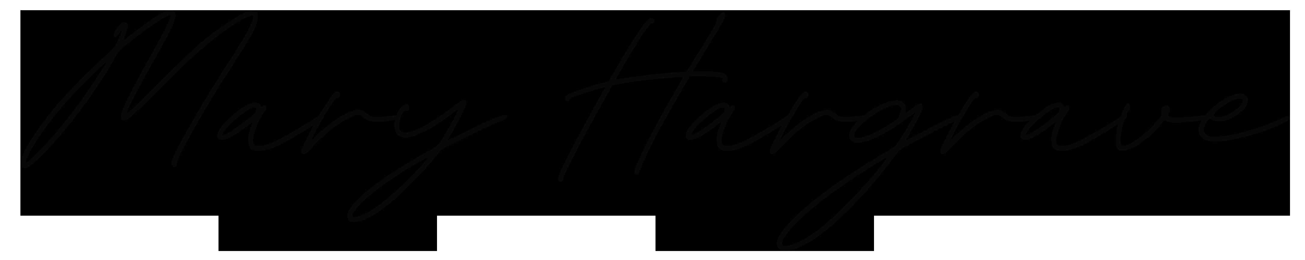 Mary Hargrave signature